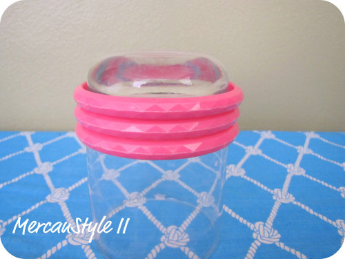 Vintage 80s Magenta Facets Plastic Bangle Bracelets (set of 3) (click the pic to check listing)