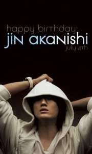 HAPPY BIRTHDAY AKANISHI JIN!!!!! <3