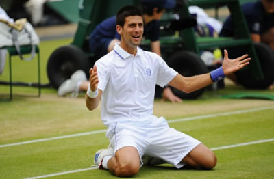 oijio:  NEW WORLD NUMBER 1 AND 2011 WIMBLEDON GENTLEMEN SINGLES CHAMPION - NOVAK DJOKOVIC!!!Way to go, Novak! CONGRATS!!!