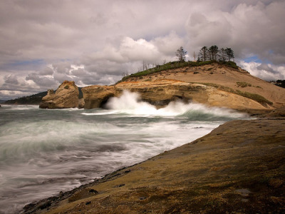 Wave Action | Cape Kiwanda, Oregon©  Eric__
