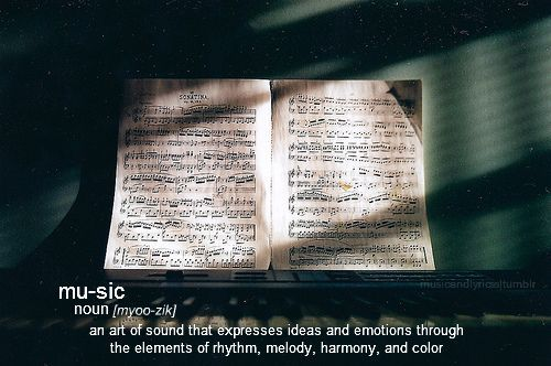 absolute-best-posts:  musicandlyricss: the definition of music. picture credit: kevingodiva flickr Follow this blog, you will love it on your dashboard