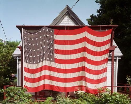 Joel Meyerowitz | Flag, Provincetown, Massachusetts, July 4, 1983