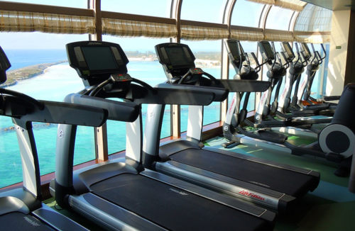 I'd workout every free second if I'd had that view, while doing it!