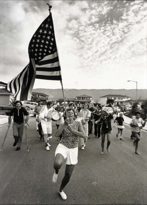 Bill Owens | Fourth of July parade, Pleasanton, California, 1972, from Suburbia