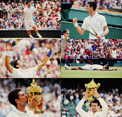 2011 Wimbledon Champion - Novak Djokovic