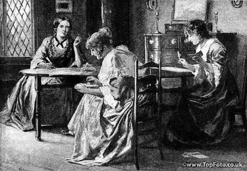 textualharassment:  The Bronte Sisters