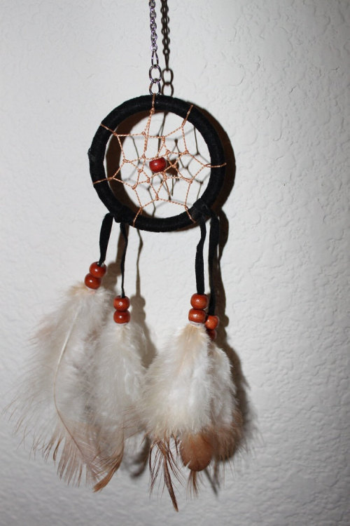 sirensong-:  Dream catcher necklace, Only $14 in my Etsy!