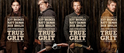 True Grit (2011) review by Rosa Powell In 1970, John Wayne won his only Oscar, playing Rooster Cogburn in the first film of True Grit, originally a book written by Charles Portis in 1968. This might have given the Coen Brothers a bit of pressure when they brought their adaptation of the book to the screen late last year. They did not live up to its reputation. A western classic given a modern re-imaging, the story follows Mattie Ross (Hailee Steinfeld with a promising performance), who hires Rooster Cogburn (an incoherent Jeff Bridges) to avenge her fathers murder. The plot seems simple enough, although the Coens script runs away with itself, taking the pace at 100mph. Is this good? Not at all. The film, although at a running length at 1hr 45mins, the film feels over quite quickly. The compulsion for a Hollywood movie seems to have spoiled True Grit, and personally I was confused with the comings and goings of LeBoeuf (Matt Damon). The film was quite enjoyable, but if you stop and dissect it like I just did, you realise that this was not one of the best films at the 2011 Awards Season. I hoped for something amazing, as I did not enjoy one of their previous works, Born After Reading, alas I was let down. Rating: 2/5