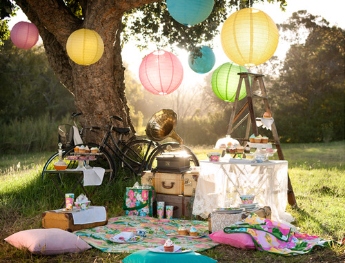 The perfect cupcake tea party!
