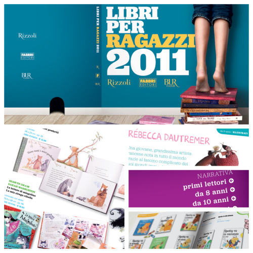 Libri per Ragazzi Kids 2011 catalogue layout