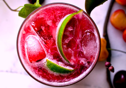 Three-ingredient summer cocktails: Cherry Caipirissima