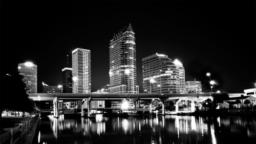 Tampa Skyline Wallpaper