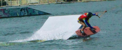 Let's go wakeboarding guys! I miss.
