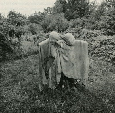 Emmet Gowin  - Barry and Dwayne, Danville, Virginia, 1970via