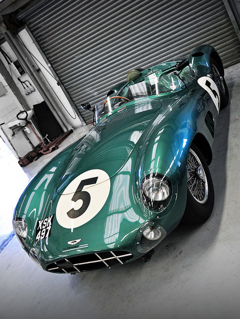 vashful:  1957 Aston Martin DBR1 No.5