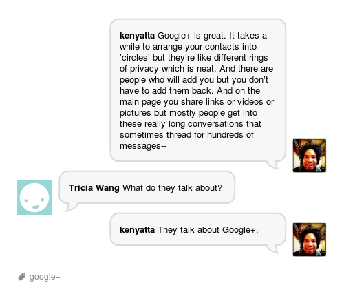 Google+ is fast becoming the leading social platform for discussing Google+
