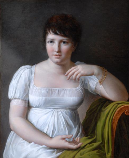 Portrait of Pauline Bonaparte by Louise-Marie-Jeanne Mauduit, 1806 France, the Bowes Museum
