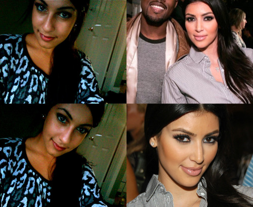nikeeets:  welovekimkardashian:  Submission:) Both gorgeous girls!  Potential Kim 'Mini-me?'  I think yes.   HAHAHAHAHAH OMFGGGGGGGGGGGGG WAITTTTTTTTTTT THIS IS THE BEST THING IN LIFE