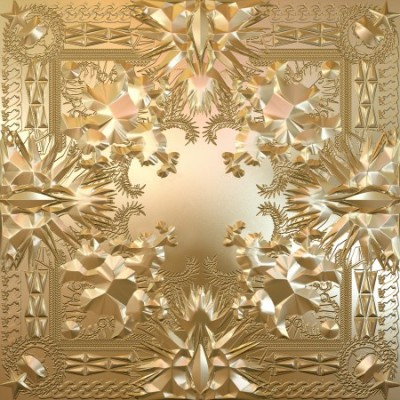 Kanye West & Jay-Z - Watch The Throne (Cover Art) Tracklist: 1. Lift Off2. Niggas in Paris3. PrimeTime4. New Day5. Living So Italian6. Otis Redding7. No Church In a While8. I Can't Stop/Spazz/Murder to Excellence9. Sweet Baby Jesus10. Love You So11. H.A.M *Unfortunately, this won't be out for the Fourth of July.