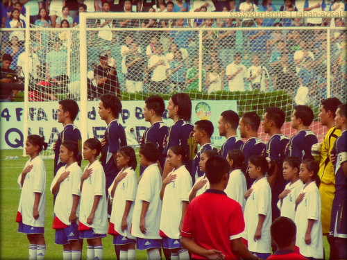 stand tall, stand proud Rizal Stadium, 03 July 2011PHI vs SRI
