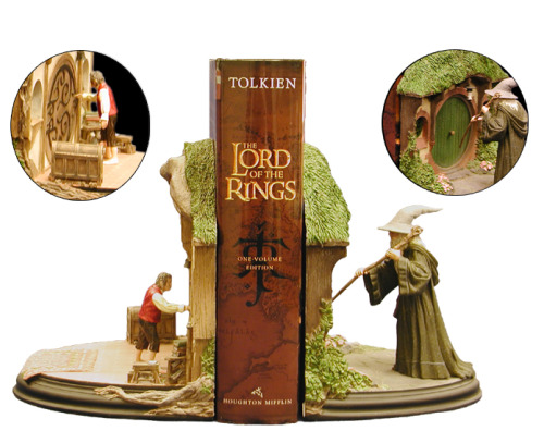 Soporte para libros Made in Hobbiton, via facilderecordar.