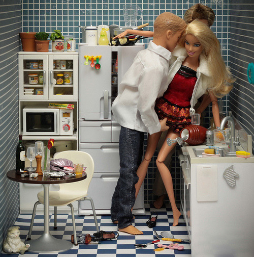 Barbie and darky ken
