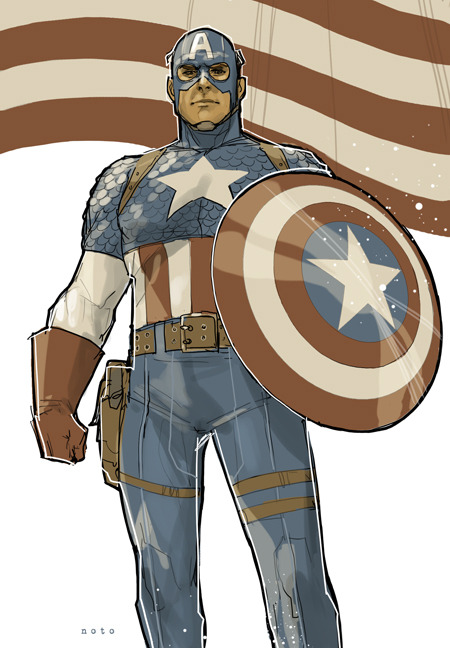 philnoto:  Captain America  The only good thing about today will be Captain America spam.