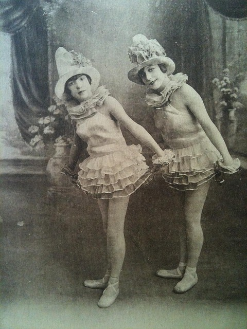 Vintage Dancing Girls.