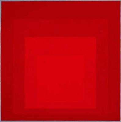 Joseph Albers Homage to the Square 1970 oil on masonite 16 x 16""