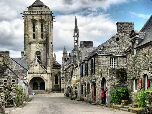 Locronan, France (by OlyaA)