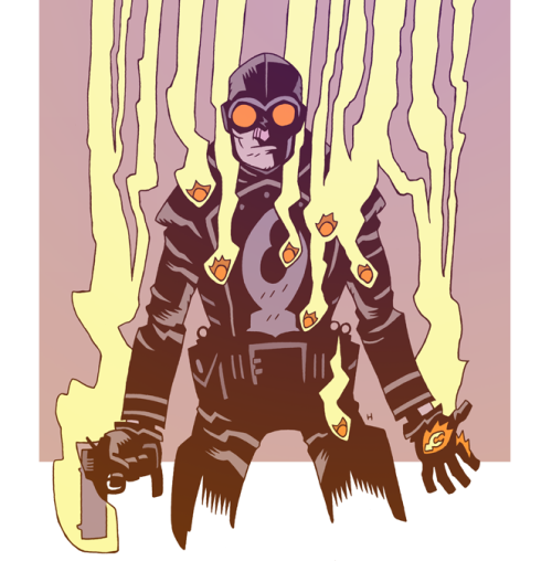 Dan Hipp Lobster Johnson. The Best.