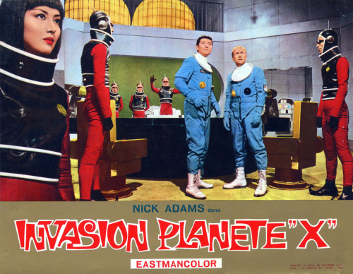 invasionofcoffeemonster:  Italian poster for Invasion of Astro-Monster.