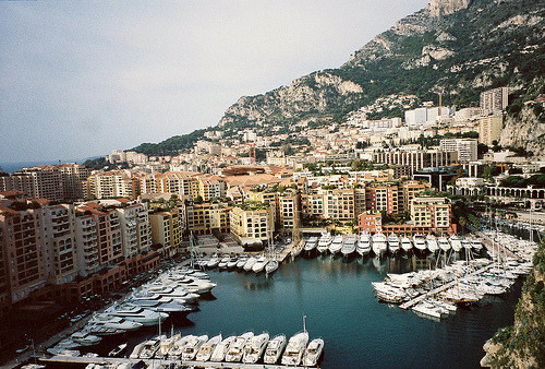 | ♕ |  Monaco Marina  | by your evil twin | via blazingdynamite