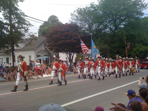 Greetings from Bristol, Rhode Island — Home of the 4th of July