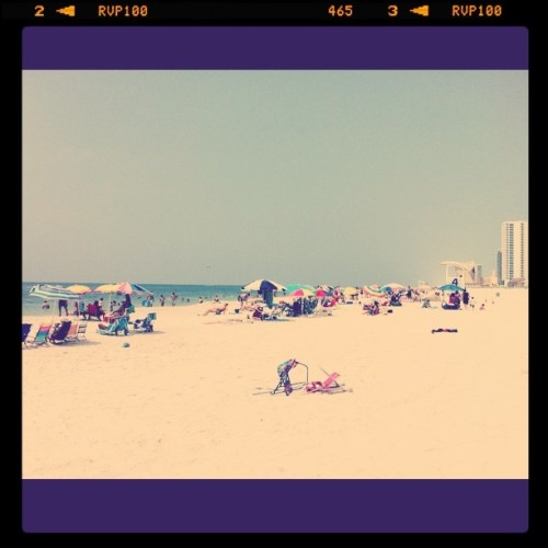 On The Beach (Taken with instagram)
