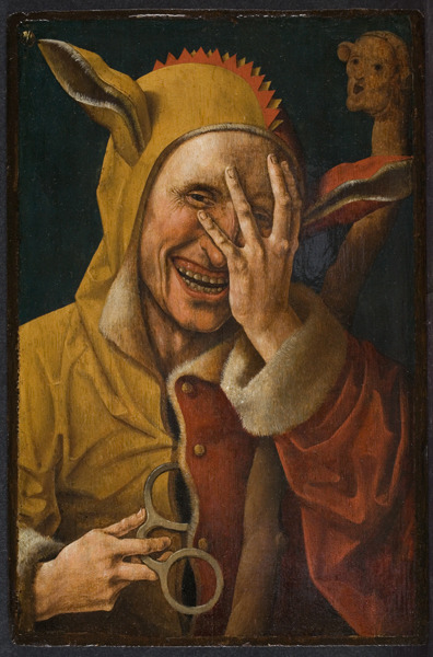 thehermitage:  Jacob Cornelisz. van Oostsanen,  (possibly by) Laughing Fool ca. 1500Oil on panel