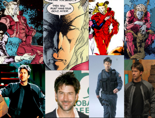 Neil Gaiman's The Sandman Fantasy Casting Auberon- Joe Flannigan I essentially just tried to find an actor with a really skinny face.