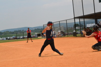 heyitscatex3:  Hitting my first grand slam at a tournament my team placed first in over the July 4th weekend.