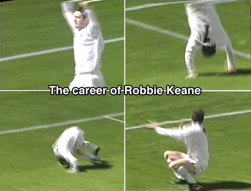 The career of Robbie Keane