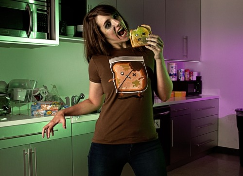 Breaaad! my zombie bread shirt is up for sale over at Threadless. modeled by my zombified friend Rachel and photographed by my talented friend Sean Dorgan.
