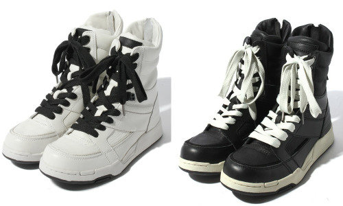Diet Butcher Slim Skin — Basic High-Top Sneakers — ¥39,900 Discuss this post on the HARAJUJU.net community