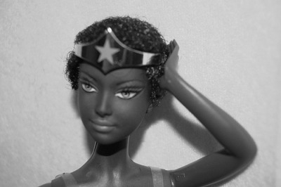 To the point, Black Wonder Woman and she ain't playing!!!