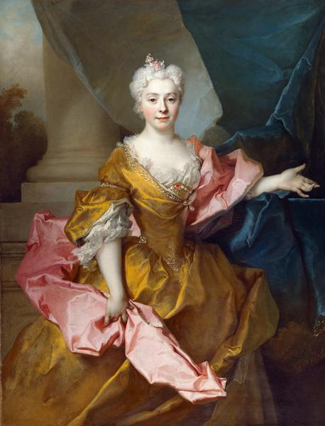 Portrait of Madame Isaac de Thellusson by Nicolas de Largillière, 1725, English Heritage