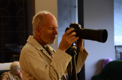 I will now be able to call Peter Sanders my teacher in photography!  http://www.petersanders.co.uk/home.html