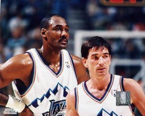 John Stockton and Karl Malone have attended the yearly screening of the Rolling Stones' documentary Cocksucker Blues every year since 1992.