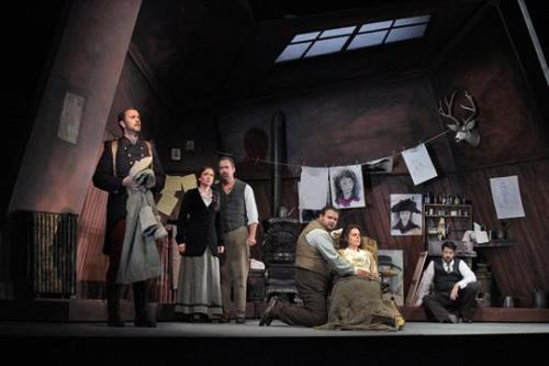 We had a great opening on Saturday.  La Boheme Santa Fe Opera.