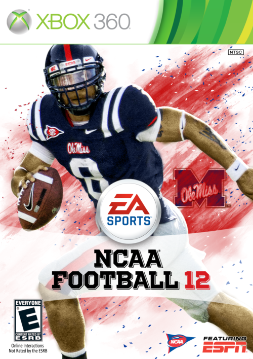 What if… Jeremiah Masoli were on the cover of NCAA Football 2012