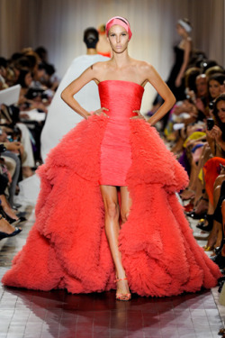 Giambattista Valli Haute Couture Fall 2011.