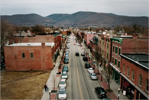 courtneysometimes:  Main Street. Beacon, New York.