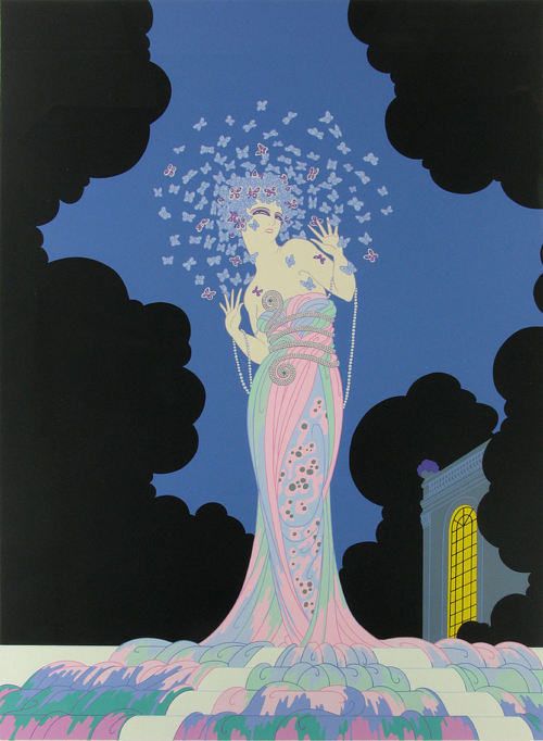"Fantasia (1982) by Romain de Tirtoff ""Erté""."